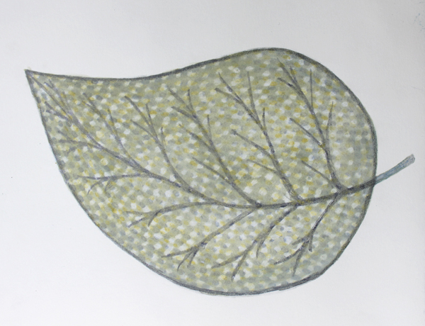 leaf a day 6:2:14 - Judy Oakenfull
