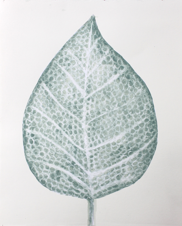 leaf a day 8:2:14 - Judy Oakenfull