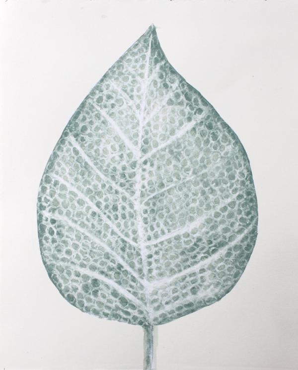 leaf a day 8:2:14 - Judy Oakenfull