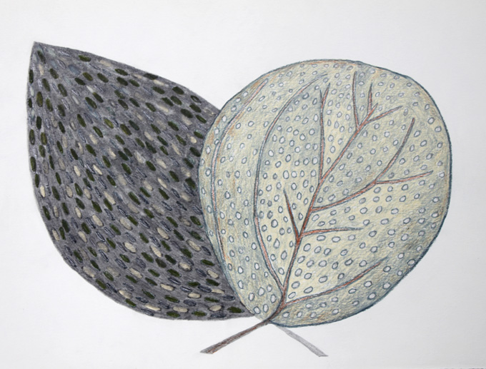 Two leaves together 4 - Judy Oakenfull