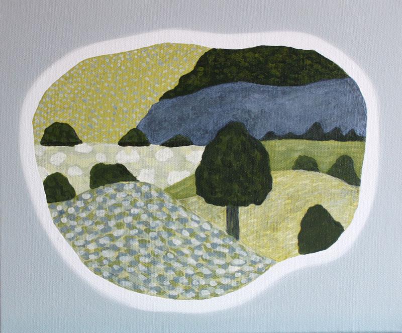 Judy-Oakenfull_Landscape-Island-1_2015_Acrylic_25x30cms