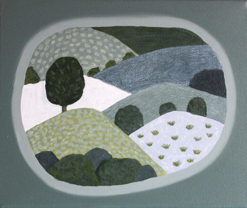 Judy-Oakenfull_Landscape-Island-3_2015_Acrylic_25x30cms