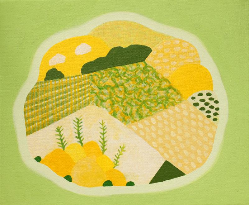 Judy-Oakenfull_Spring-Island-2_2015_25x30cms_Acrylic