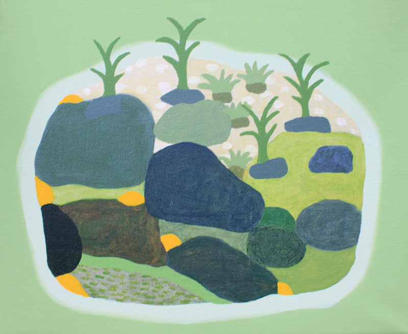 Judy-Oakenfull_Spring-Island-5_2015_Acrylic_25x30cms