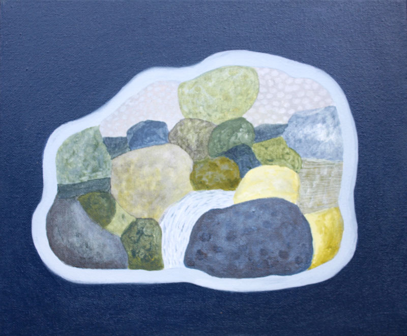 Judy-Oakenfull_Upwards-Island_2015_Acrylic_25x30cms