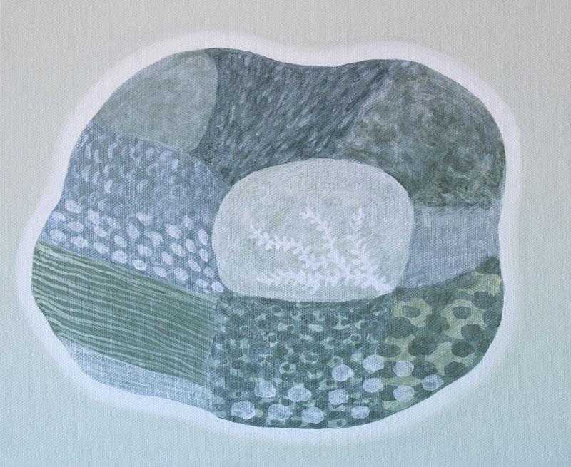 Judy-Oakenfull_Winter-Island_2015_Acrylic_25x30cms