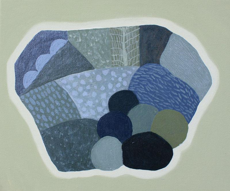 Judy-Oakenfull_Wondering-Island_2015_Acrylic_25x30cms