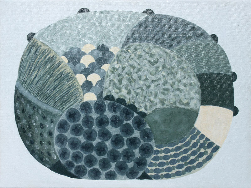 Oakenfull-Judy_Eucalyptical_2015_30x40cms_Acrylic-on-canvas