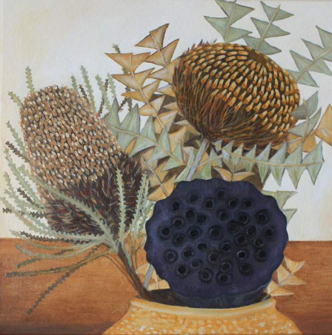 2Banksias-and-a-Lotus