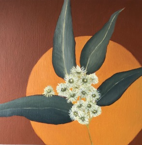 oil painting blossom botanical