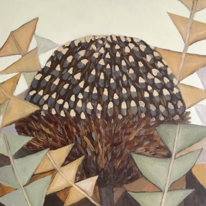 Banksia oil painting