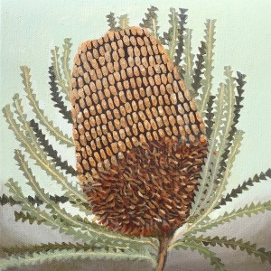 Banksia Painting Oil Painting