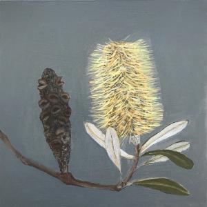Coastal Banksia Painting