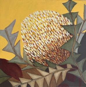 Banksia Painting Botanical art